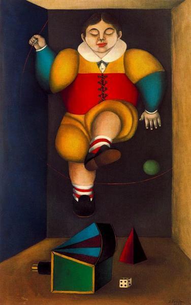 The Child's Dream - Richard Lindner