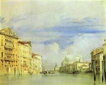 Venice. The Grand Canal. - Річард Паркс Бонінгтон