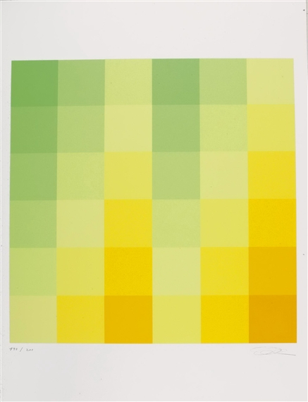 Farbfelder, 1976 - Richard Paul Lohse