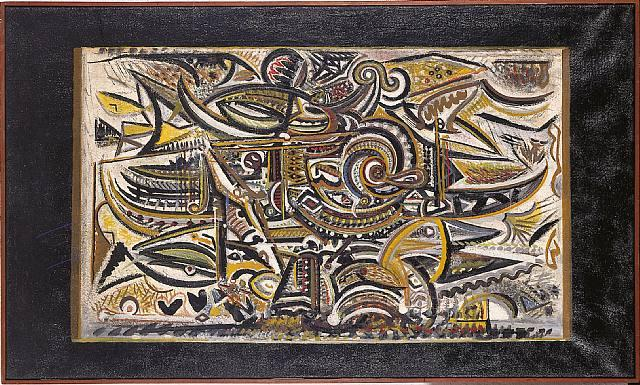 Bird in the Wind, 1942 - Richard Pousette-Dart
