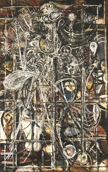 Figure, 1945 - Richard Pousette-Dart