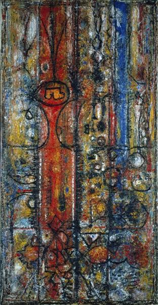 The Magnificent, 1951 - Richard Pousette-Dart