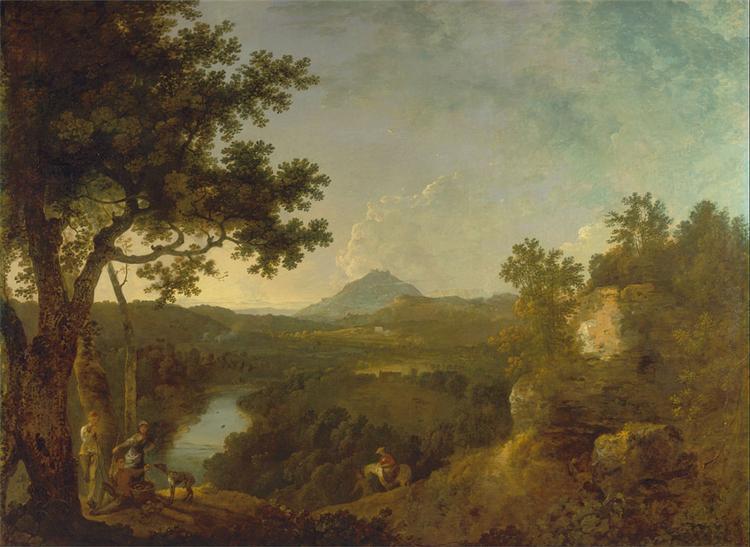View near Wynnstay, the Seat of Sir Watkin Williams-Wynn, BT., 1771 - Richard Wilson
