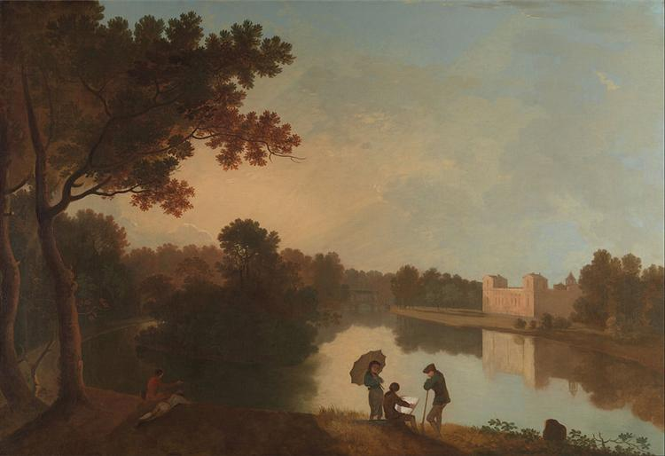 Wilton House from the Southeast, 1760 - Richard Wilson