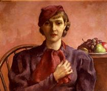 Young Lady of 1933 - Robert Brackman