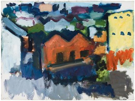 Hills and Buildings, Folsom Street, San Francisco - Robert De Niro Sr.