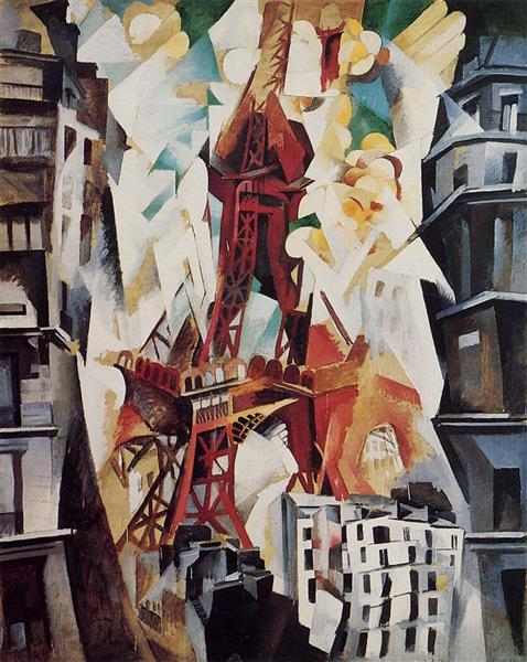 Eiffel Tower, 1909 - 1914 - Robert Delaunay