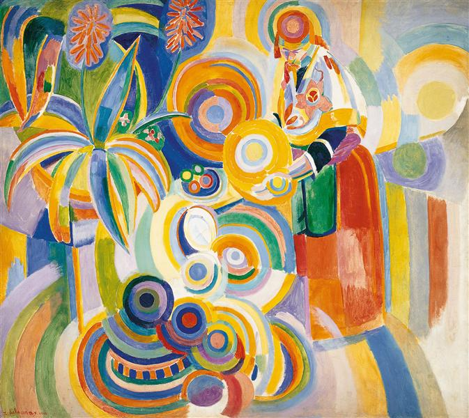 Tall Portuguese Woman - Robert Delaunay