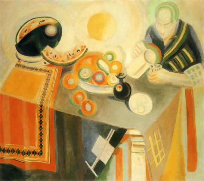 The Bowl, 1916 - Robert Delaunay