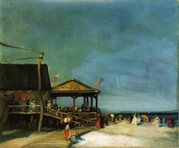 At Far Rockaway, 1902 - Robert Henri