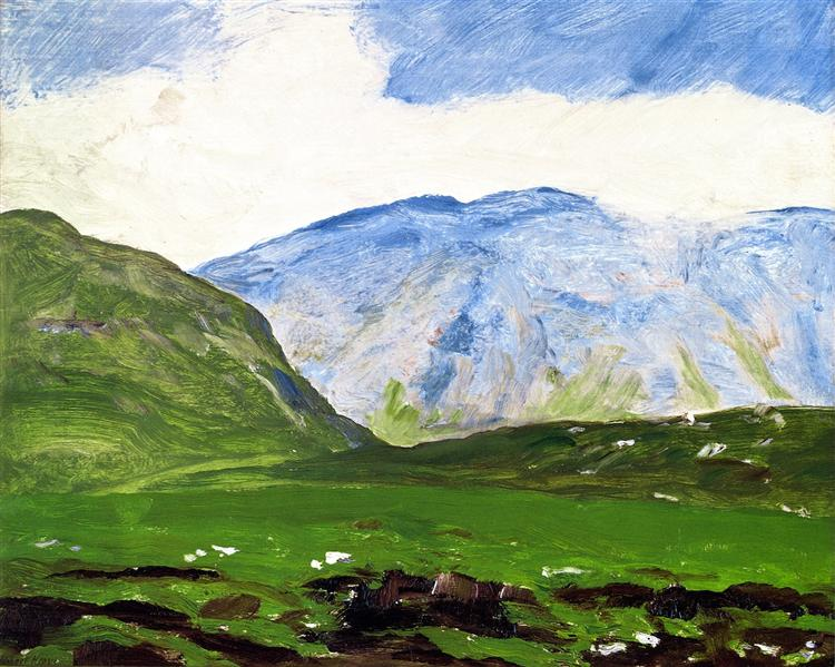 Irish Landscape, 1913 - Robert Henri