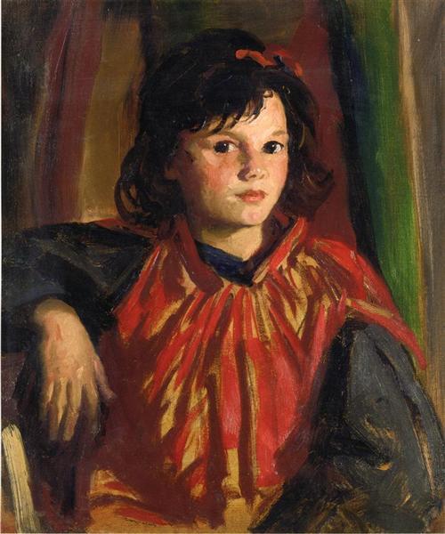 Pegeen, 1926 - Robert Henri