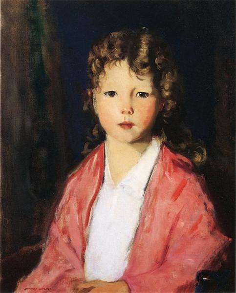 Portrait of Jean McVitty, 1919 - Robert Henri