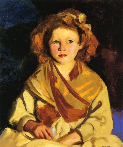 Sissy in Yellow, 1924 - Robert Henri