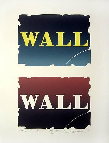Wall: Two Stone, 1990 - Robert Indiana