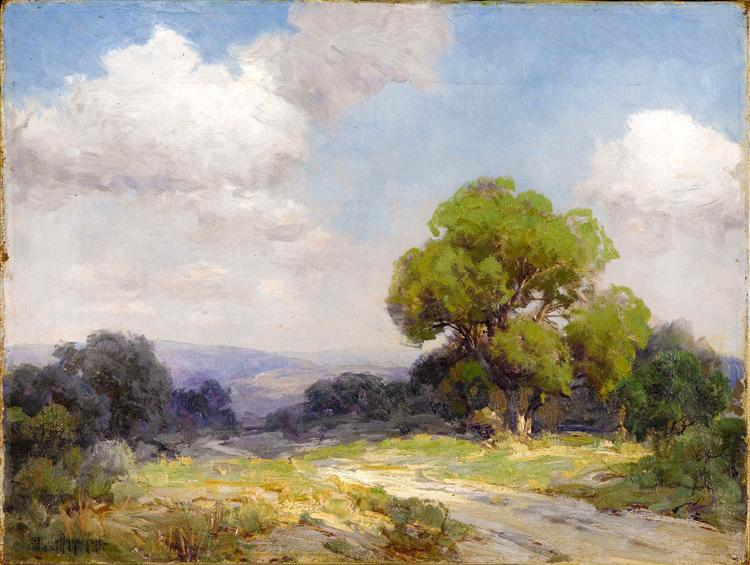 Morning in the Hills Southwest Texas - Robert Julian Onderdonk