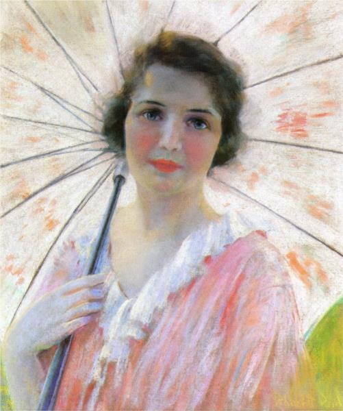 Lady with a Parasol, 1921 - Robert Lewis Reid