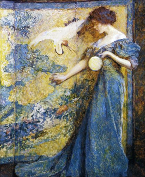 The Mirror, 1910 - Robert Lewis Reid