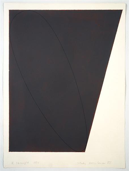 Study Attic Series XII, 1991 - Robert Mangold
