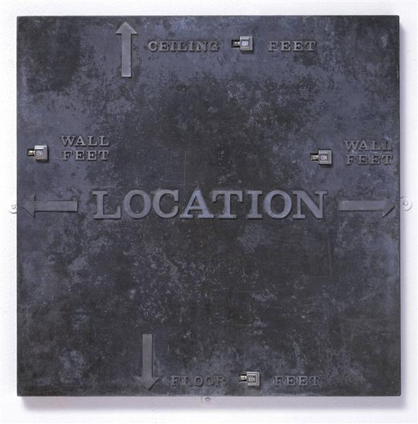 Location Piece, 1973 - Robert Morris