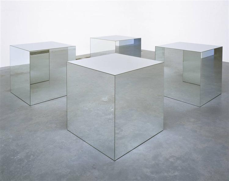 Untitled (Mirrored Cubes), 1965 - 1971 - Robert Morris