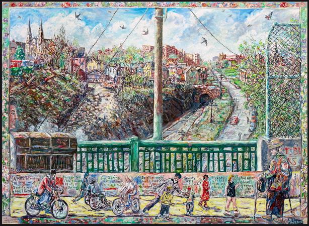 Spring Bridge, 1986 - Robert Qualters