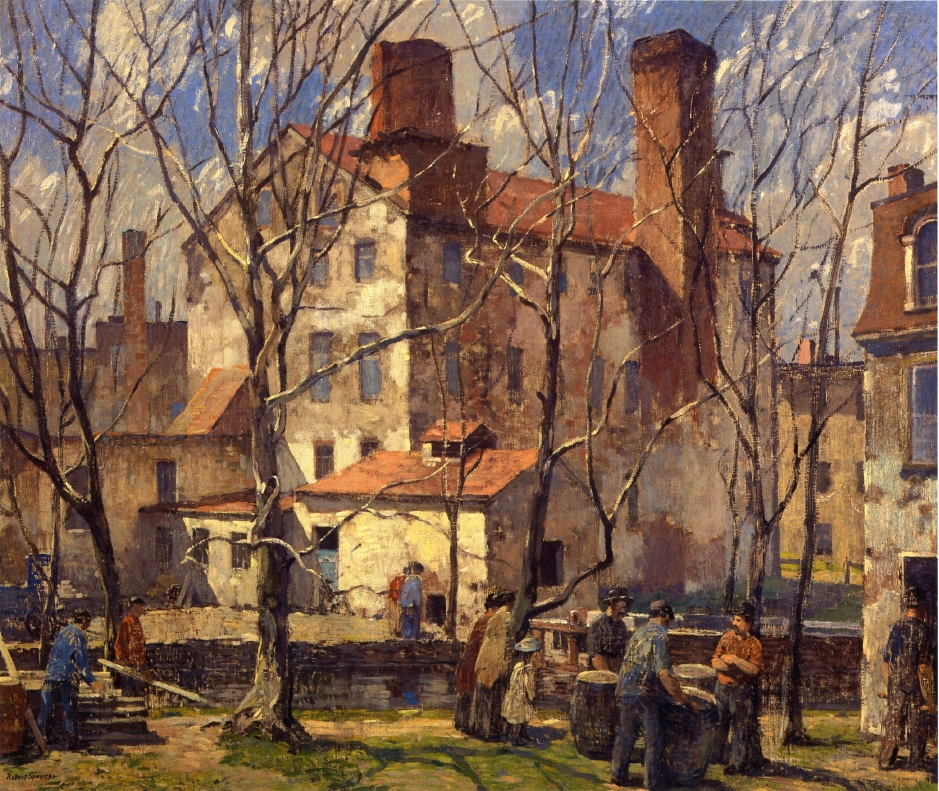 A Day in March, 1918