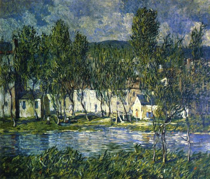 Flowing Water, 1924 - Robert Spencer