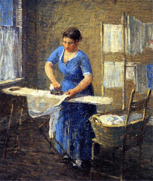 Woman Ironing, 1931 - Robert Spencer