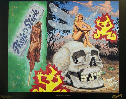 The Chrysalis of Death, 1993 - Robert Williams