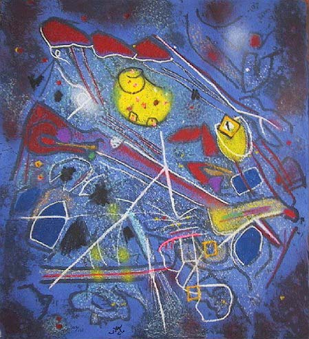 Redness of Blue, 1996 - Roberto Matta