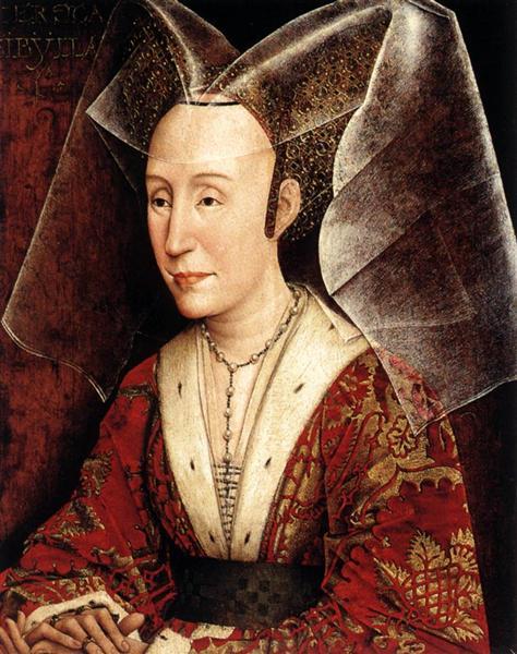 Isabella of Portugal, c.1450 - Rogier van der Weyden
