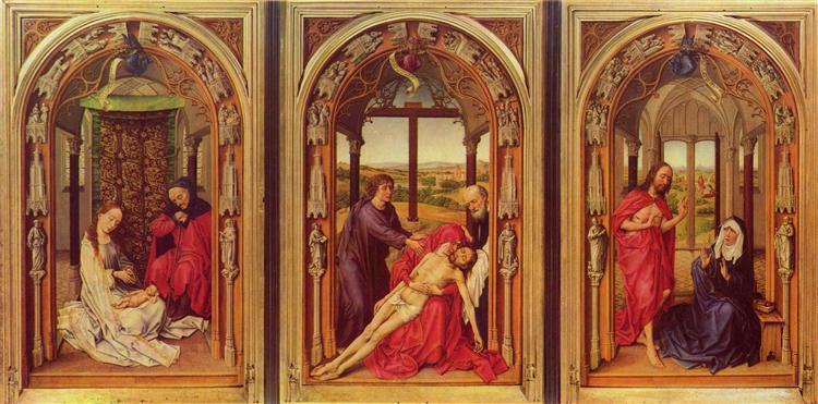 Mary Altarpiece, 1445 - Rogier van der Weyden