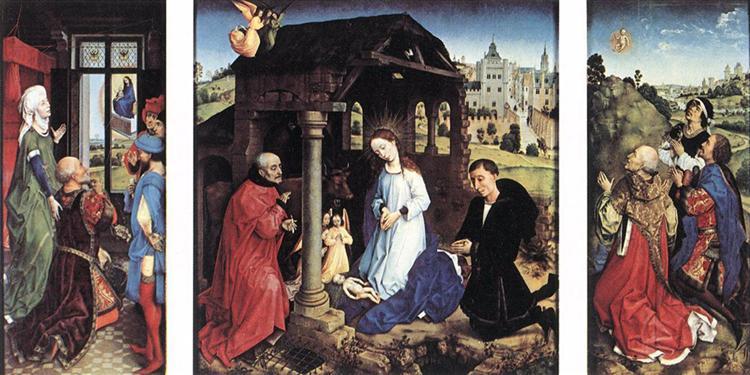 Pierre Bladelin Triptych - Rogier van der Weyden
