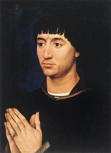 Portrait of Jean de Gros, 1450 - Рогір ван дер Вейден