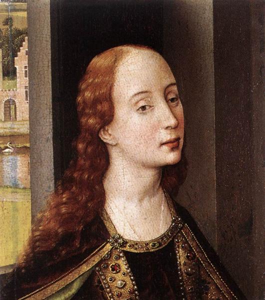 Saint Catherine, 1445 - Rogier van der Weyden