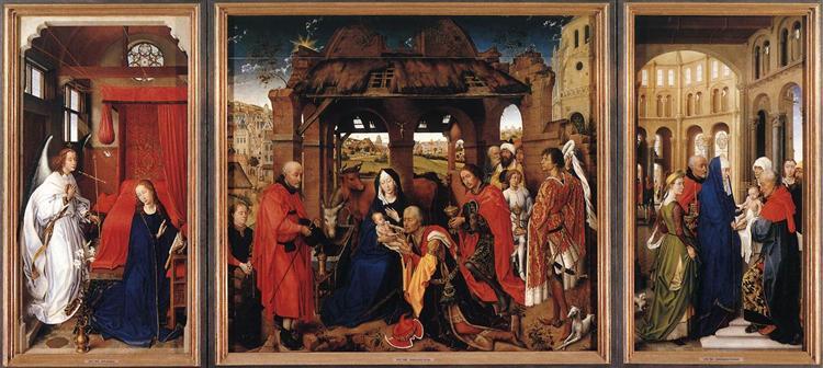 Saint Columba Altarpiece, 1455 - Rogier van der Weyden