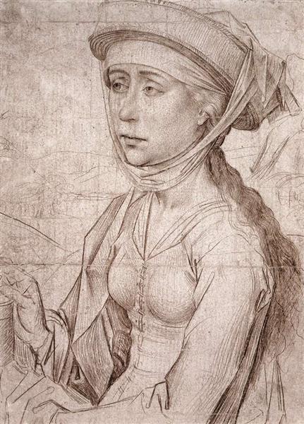 Saint Mary Magdalene, c.1450 - c.1459 - Rogier van der Weyden