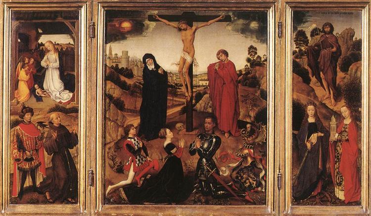 Sforza Triptych, 1460 - Rogier van der Weyden