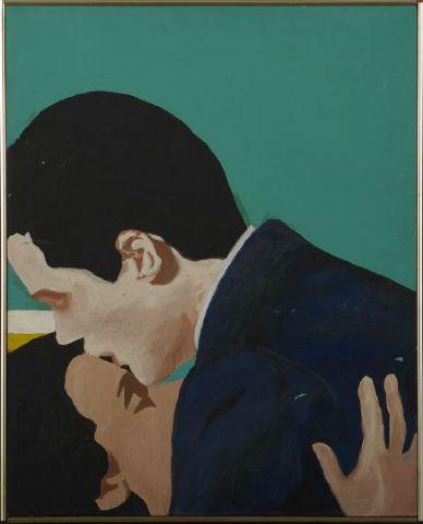 Love in the Green Room - Rosalyn Drexler - WikiArt.org