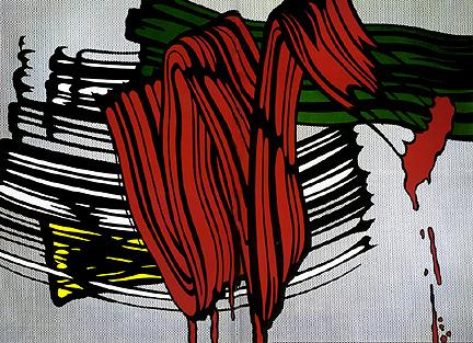 Big painting VI, 1965 - Roy Lichtenstein