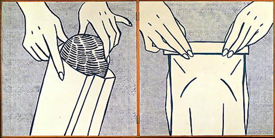 Bread in bag, 1961 - Roy Lichtenstein