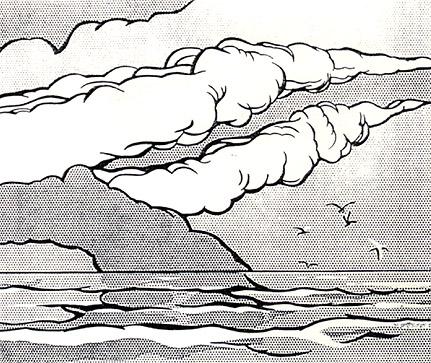 Gullscape, 1964 - Roy Lichtenstein