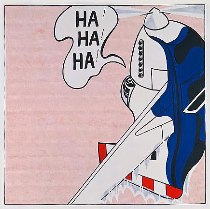 Live ammo (Ha! Ha! Ha!), 1962 - Roy Lichtenstein