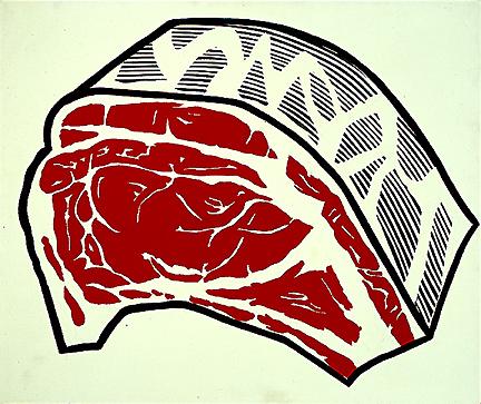 Standing rib, 1962 - Roy Lichtenstein