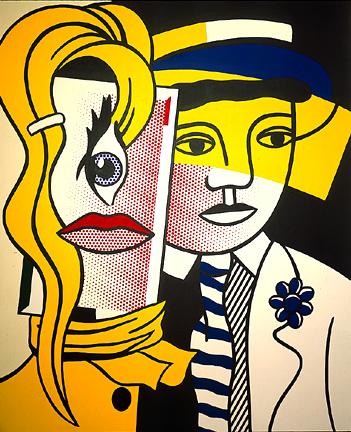 Stepping out, 1978 - Roy Lichtenstein
