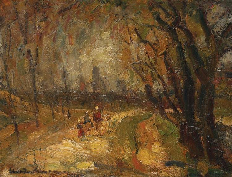 Summer Path, 1951 - Rudolf Schweitzer-Cumpana