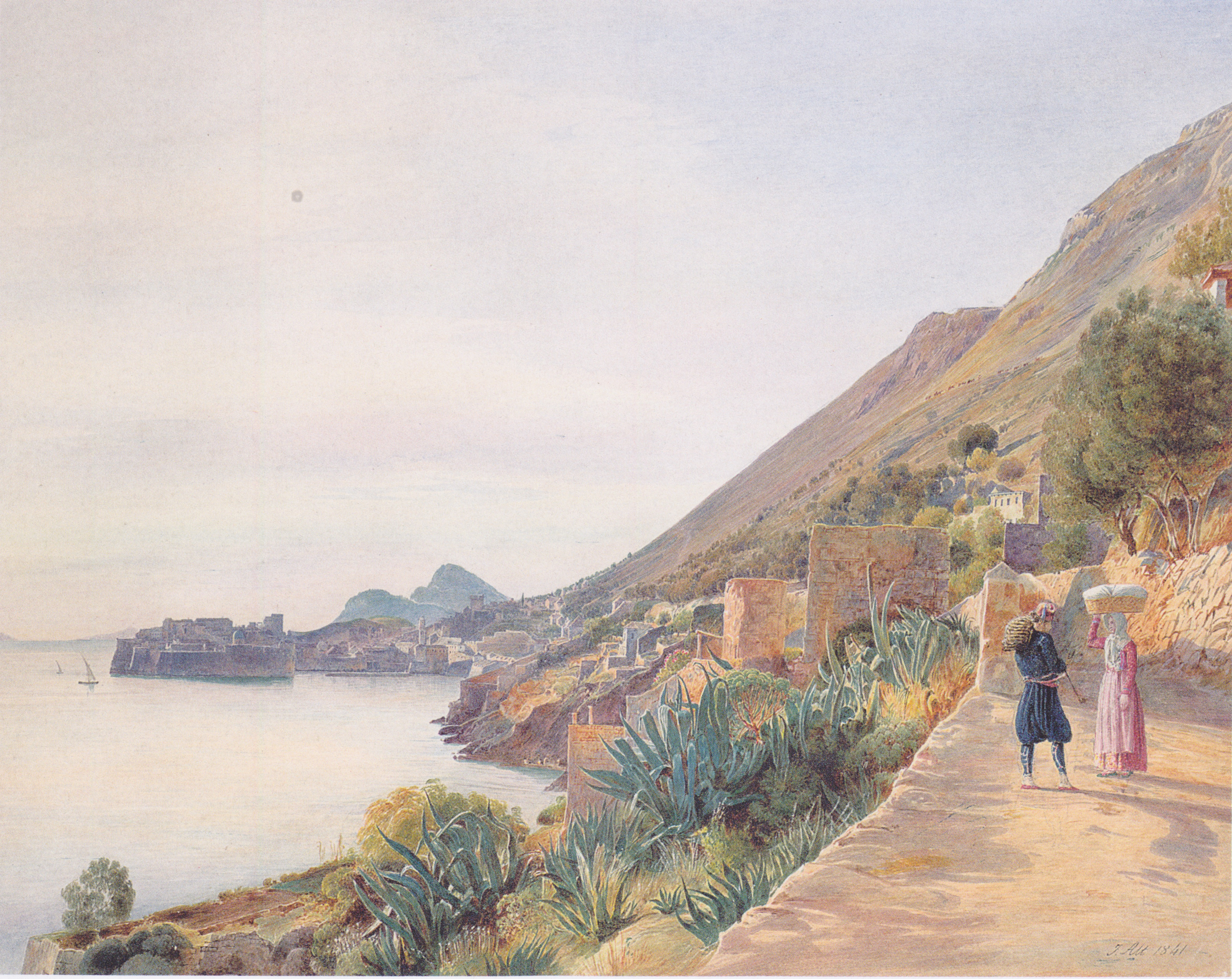 View of Ragusa, 1841