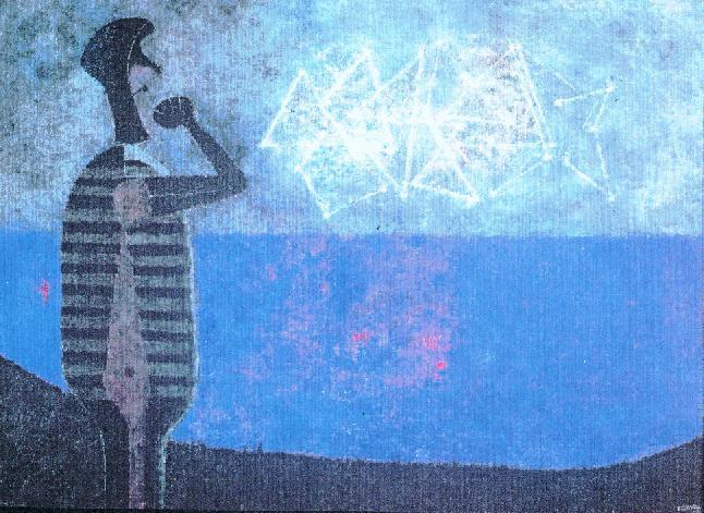 La gran galaxia, 1978 - Rufino Tamayo