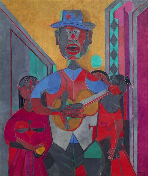 The Troubadour, 1945 - Rufino Tamayo